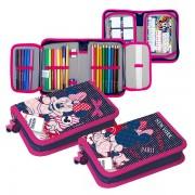 Penar Minnie Mouse, echipat, 1 compartiment, 13,5x20,5x4 cm