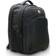Harissons Cyber 33 L Free Size Laptop Backpack(Black)