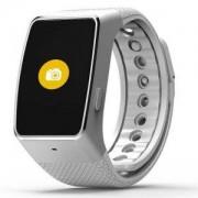 Смарт часовник MyKronoz Zewatch 4 HR, Сребрист/Бял, KRON-ZEWATCH4-HR-WHITE