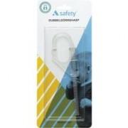 A-safety Dubbeldörrhasp tra 1 st