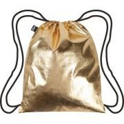 Plecak LOQI Metallic Gold