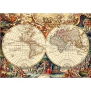 Puzzle - Harta istorica a lumii 1000 piese