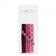 Knotties Braided Elastics Pink Sugar 6-P