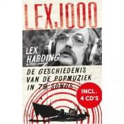 Lexjooo + 4 cd's - De geschiedenis van de popmuziek in 78 songs - Lex Harding en Tjerk Lammers