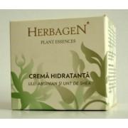 Crema de fata hidratanta cu ulei abisinian si unt de shea 100ml Herbagen