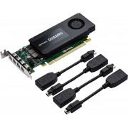 PNY VCQK1200DP-PB Quadro K1200 4GB GDDR5 videokaart