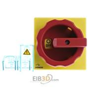 3LD2704-1TP53 - Haupt-/Not-Aus-Schalter 3p. 100A 37kW/400V 3LD2704-1TP53 - Aktionspreis - 1 Stück verfügbar