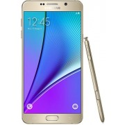 "Telefon Mobil Samsung Galaxy Note 5, Procesor Octa-Core 1.5GHz / 2.1GHz, Super Amoled Capacitive touchscreen 5.7"", 4GB RAM, 32GB Flash, 16MP, Wi-Fi, 4G, Android (Auriu)"