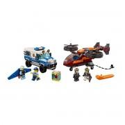 Lego City Polícia aérea, assalto do diamante, 60209Multicolor- TAMANHO ÚNICO