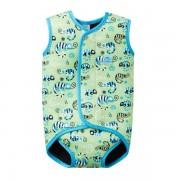 Costum neopren cu velcro bebelusi Baby Wrap Gegosii Verzi
