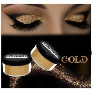 Pack of 2 SUPER BRIGHT GOLDEN GLITTER SHIMMER FOR BEAUTY QUEEN