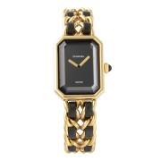 【USED】CHANEL プルミエール ウォッチ ゴールド ファッション > 腕時計~~レディース 腕時計