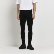 river island Mens Black Ollie spray on skinny jeans (36L)