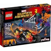 Marvel Super Heroes- Spider-Man VS. Ghost Rider 76058 - 217 PCS- LEGO