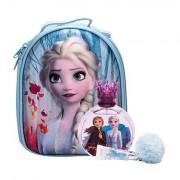 Disney Frozen II confezione regalo eau de toilette 100 ml + lipgloss 6 ml + zaino Elsa Per Bambini