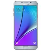 "Telefon Mobil Samsung Galaxy Note 5 Duos N9208, Procesor Octa-Core 1.5GHz / 2.1GHz, Super Amoled Capacitive touchscreen 5.7"", 4GB RAM, 32GB Flash, 16MP, Wi-Fi, 4G, Dual Sim, Android (Argintiu) + Cartela SIM Orange PrePay, 6 euro credit, 6 GB internet 4G,"
