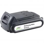 AGT Professional Li-Ion-Werkzeug-Akku AW-18.hak, 18 V/2000 mAh