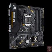 Asus TUF B360M-PLUS GAMING, Intel B360, VGA by CPU, PCI-Ex16, 4xDDR4, 2xM.2, DVI/HDMI/USB3.1 Gen 2/USB Type-C, mATX (Socket 1151)