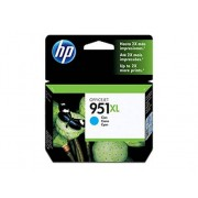HP Cartucho de tinta Original HP 951XL de alta capacidad Cian para HP OfficeJet Pro 251dw, 276dw, 8100, 8600, 8600 Plus, 8610, 8615, 8620