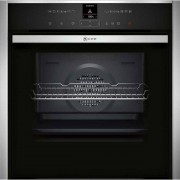 NEFF N70 Slide&Hide; B47VR32N0B Built In Electric Single Oven - Stainless Steel - A+ Rated