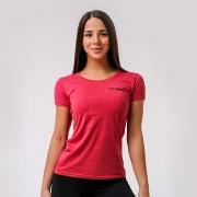 GymBeam Ženska majica Basic Vintage red XS