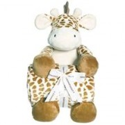 Teddykompaniet Diinglisar Wild Filt Giraff