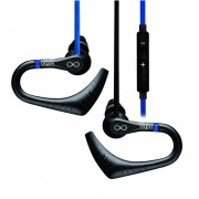 Veho ZS3 Water Resistant Sports Hook Earphones with Mic - Blue