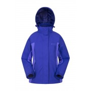 Mountain Warehouse Wodoodporna kurtka 3 w 1 Storm - Purple