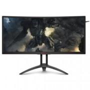 """Монитор AOC AG352UCG6, 35""""(88.90 cm) MVA панел, WQHD, 4ms, 2500 :1, 300cd/m2, HDMI, DisplayPort, черен"""