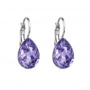 Cercei cu cristale Swarovski FaBOS, Tanzanite 7440-5681-09