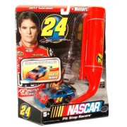NASCAR Pit Stop Racers Motorized Car with Charger for Ultimate Speedway Track Set #24 - Jeff Gordon (Track Set Sold Separately)