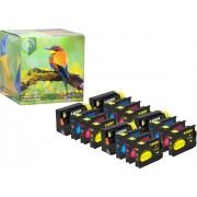Ink Hero - 16 Pack - Inktcartridge / Alternatief voor de HP Officejet 932 933 CN053AE CN057AE CN054AE CN055AE CN056AE 6100 6600 6700 7110 7510 7610 7612
