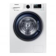 Masina de spalat rufe Samsung Eco Bubble WW70J5246FW, 7kg, 1200rpm, A+++, Display, Inverter, Alb