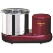 AMIRTHAA ALS Table Top Wet Grinder (Wine Red) Wet Grinder(Maroon)