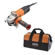Aeg Smerigliatrice angolare AEG WS 10-115 S con borsa