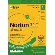 Symantec Norton 360 Standard 10 GB cloud backup 1 utente 1 dispositivo 12 MO licenza annuale download