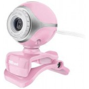 Camera web Trust Exis Pink