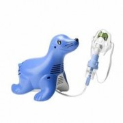 Aparat aerosoli Philips Respironics InnoSpire Sami the Seal operare continua tehnologie SideStream si sistem Active Vent
