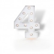 SkyLantern® Original Chiffre Lumineux 4