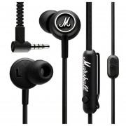 Audífonos Marshall In Ear. Mode. Alámbricos. color Negros