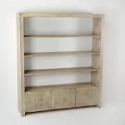 Biblioteca design vintage patina cenusie Amparo