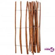 vidaXL Drvena Ograda Impregnirano Drvo Lijeske 120x250 cm