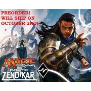 Magic The Gathering (Mtg) Battle For Zendikar 6 Booster Packs (15 Cards Per Pack) Pre Order Ships After Oct 2nd