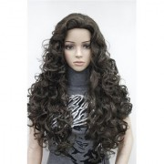 Sellers Destination Long straight Human Hair wig for women(size 30 Black)