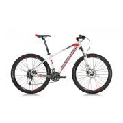 "Велосипед Shockblaze R5, 27.5""x520, WHITE GL, BLUE/RED"