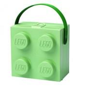 LEGO, Cutie pentru sandwich Sand Green cu maner