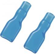 Manson de izolare din PVC moale pentru papuci polati neizolati 4,8 mm, albastru