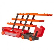 Set de joaca Hot Wheels, mega transportator de masini