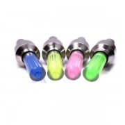 6x Bike Bicycle LED Wheel Lights Valve Lamp Valve Core Light