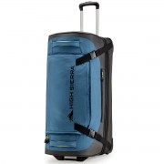 "High Sierra 30"" Drop Bottom Wheeled Duffel Bag Luggage Holdall"
